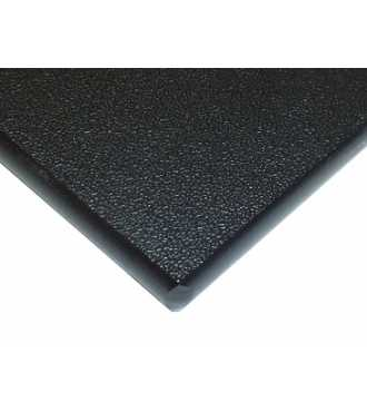 Black HDPE plastic 1/2''