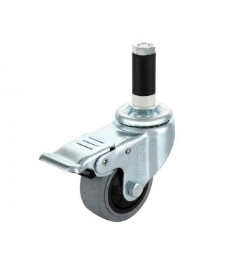 3'' Stem ESD Swivel Caster With Brake