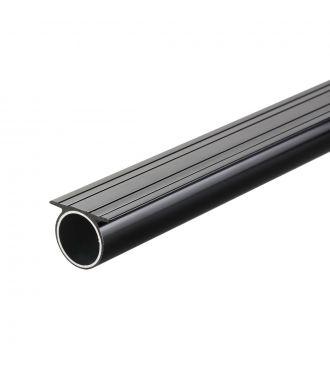 Tube plat 8' acier Noir
