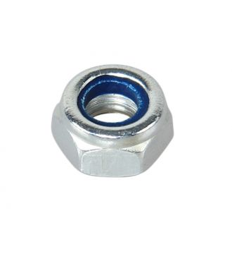 Lock nut for caster