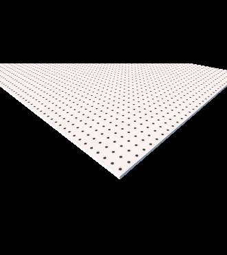 White HDPE Peg Board 1/4'''