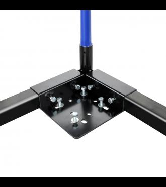 Corner steel plate for square pipe